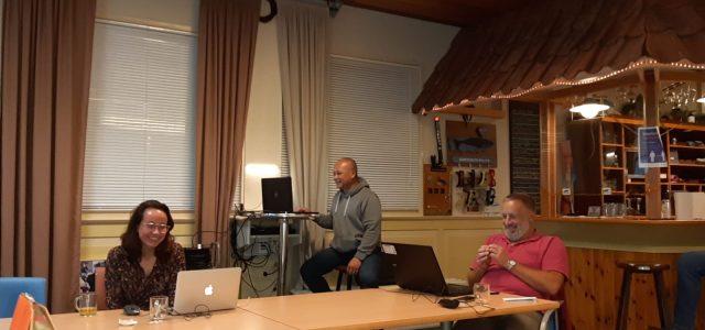 Eerste digitale Ledenvergadering van duikvereniging de Walvis